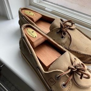 Sperry topsiders in oatmeal 10.5m Classic